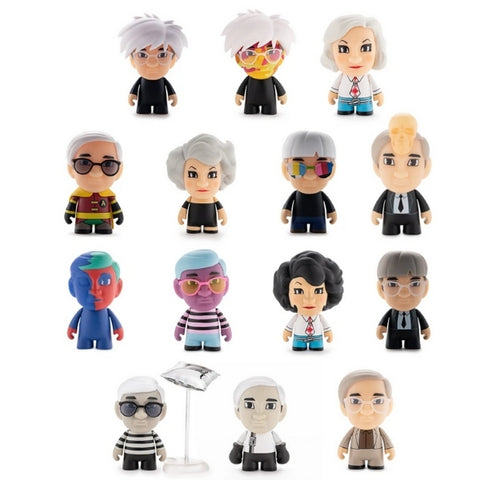 MANY FACES OF ANDY WARHOL - Art Series Blind Boxes