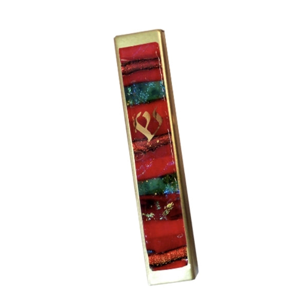 MEZUZAH - Mosaic Fused Glass