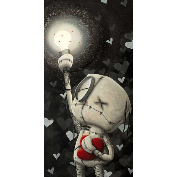 NEVER DARK WHEN YOU HOLD ONTO HOPE by Fabio Napoleoni