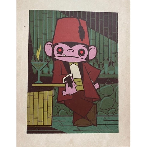 MR. PERNICIOUS - Paper Print by Terribly Odd