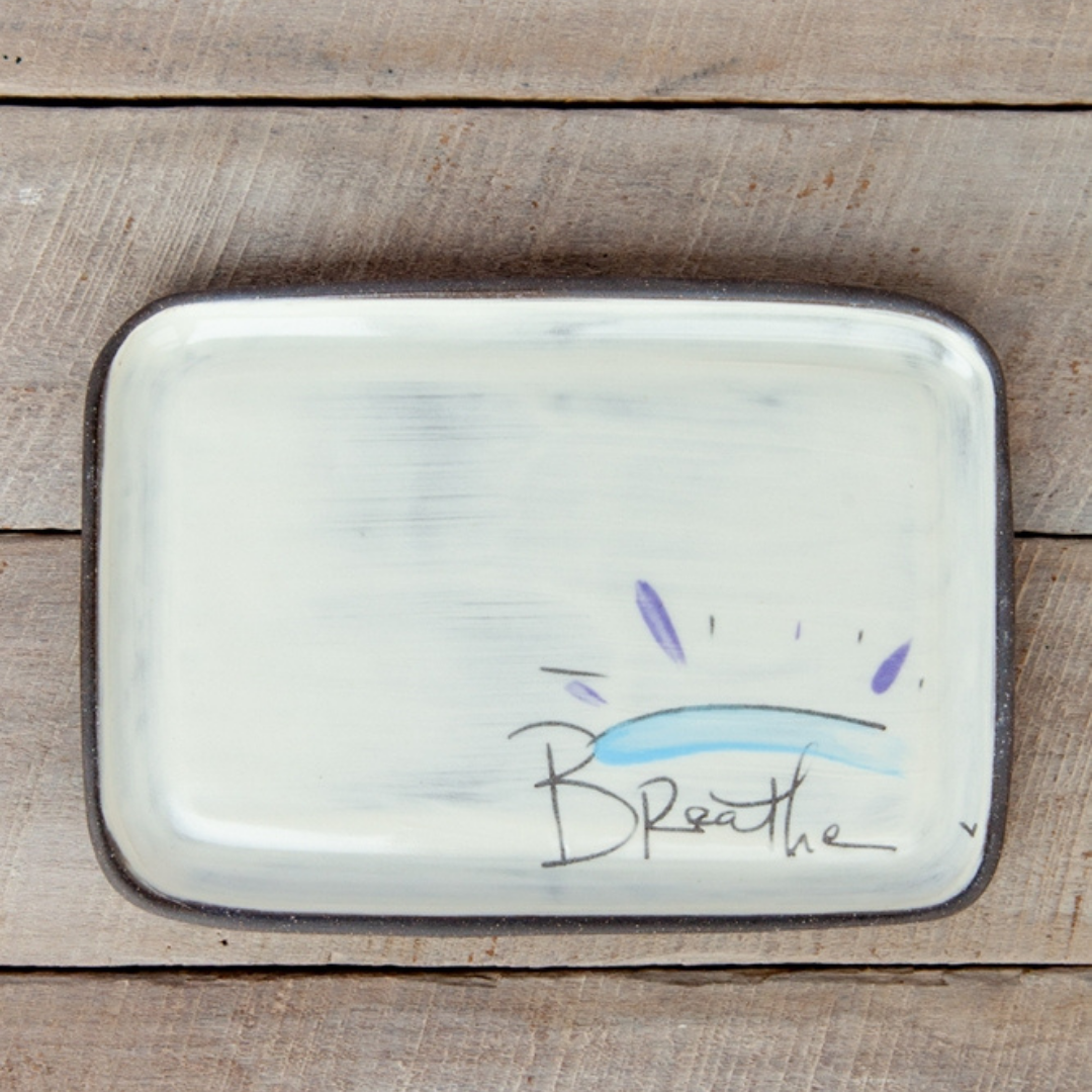 BREATHE Plate - Rectangle