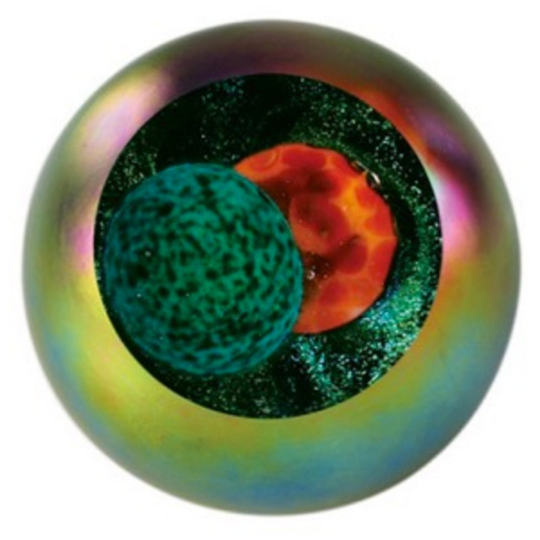 SOLAR ECLIPSE Celestial Paperweight