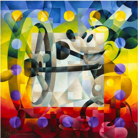 "Steamboat Willie by Tom Matousek - 24"" x 24"" Limited Edition"