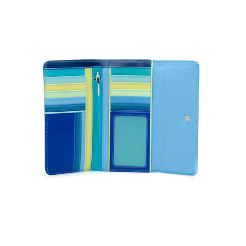 TRI-FOLD WALLET WITH OUTER ZIP - Large