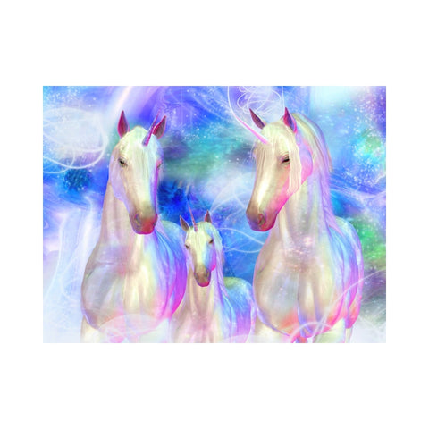 Alan Foxx UNICORNS-Unicorn Family Mystique