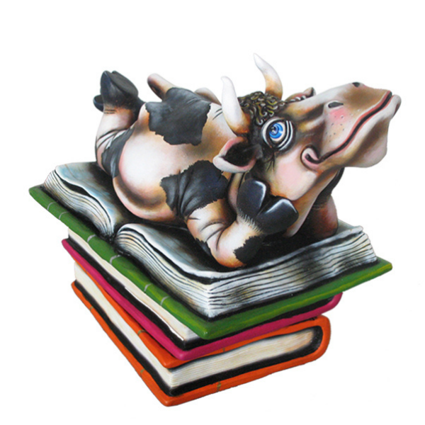 Cow Book Club by Carlos and Albert