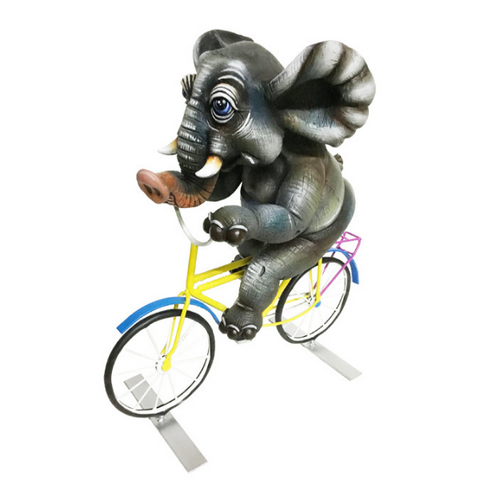 Elephant on Bicycle by Carlos and Albert