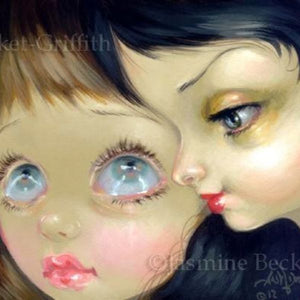Faces of Faery #191 by Jasmine Becket Griffith