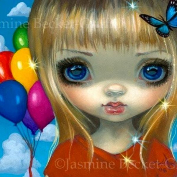 Faces of Faery #233 by Jasmine Becket Griffith