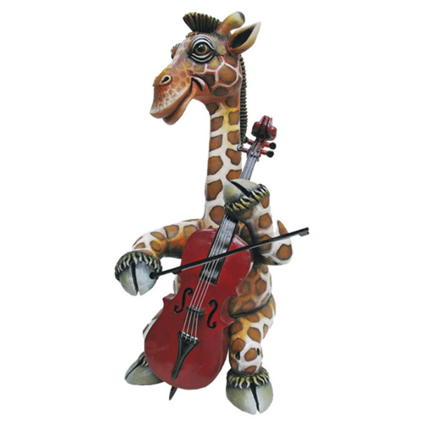 Giraffe The Cellist by Carlos and Albert