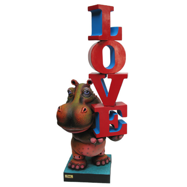 Hippo In Love by Carlos and Albert
