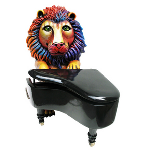 Lion the Piano Player by Carlos and Albert