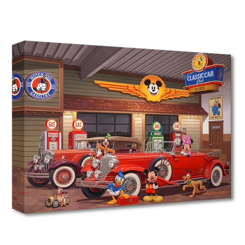 MICKEY'S CLASSIC CAR CLUB by Manuel Hernandez - Treasure