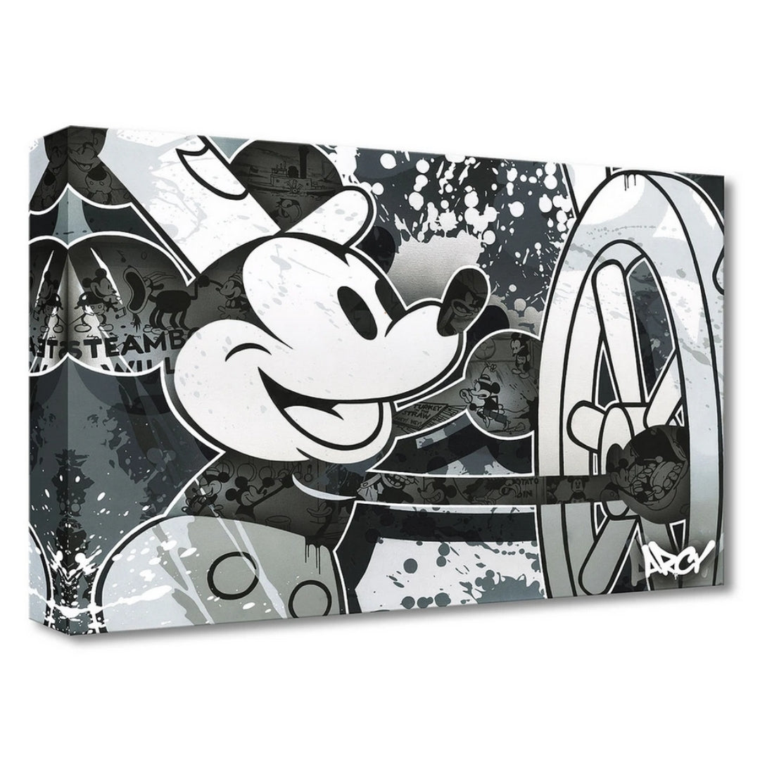 "Disney's Arcy ""STEAMBOAT WILLIE"""