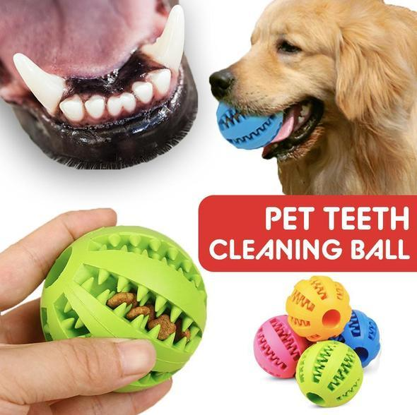 Dog Teeth Clean Ball Toy