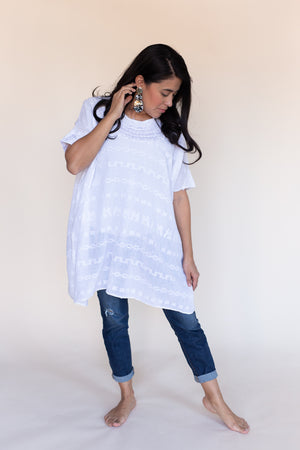 Fort Worth Embroidered Tunic