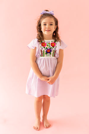Lucia Dress in Lila