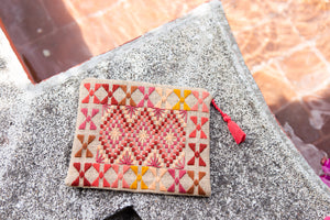Louisa Embroidered Clutch