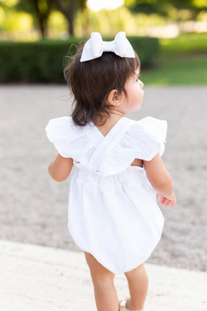 Ruffle Romper for Baby Girls