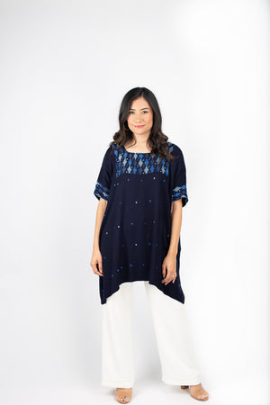 Especial Tunic in Indigo