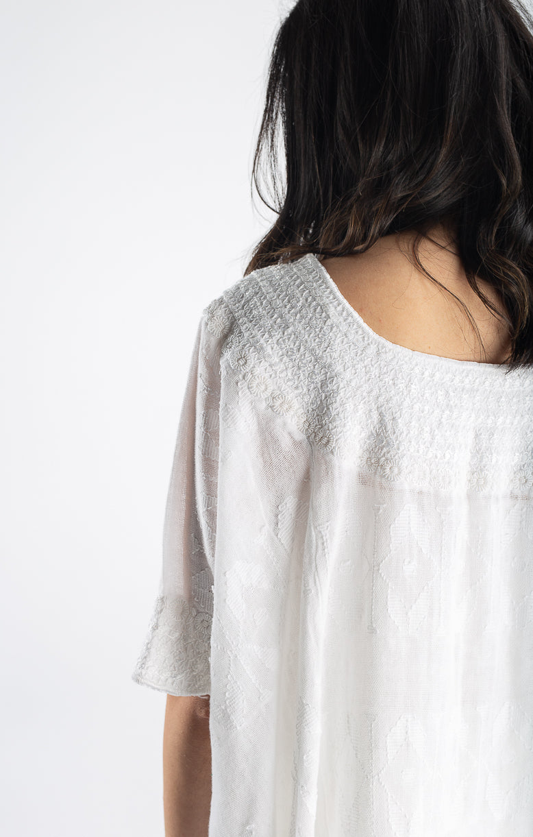 Fauna Tunic in Daisy White