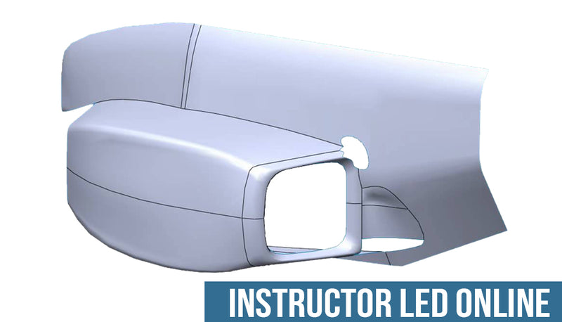 SOLIDWORKS Advanced Surface Modeling - Instructor Led Online Training
