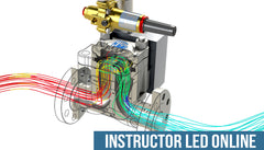 SOLIDWORKS Flow Simulation - Instructor Led Online Training
