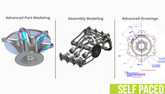 SOLIDWORKS Professional Bundle - Self Paced Training (supported)