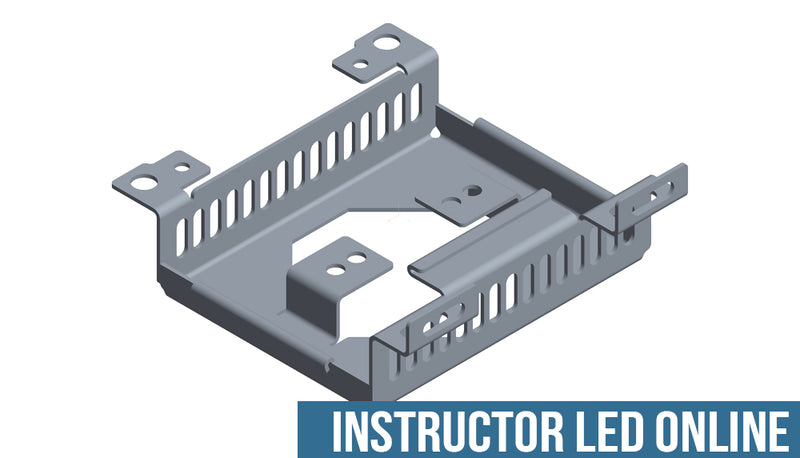 SOLIDWORKS Sheet Metal - Instructor Led Online Training