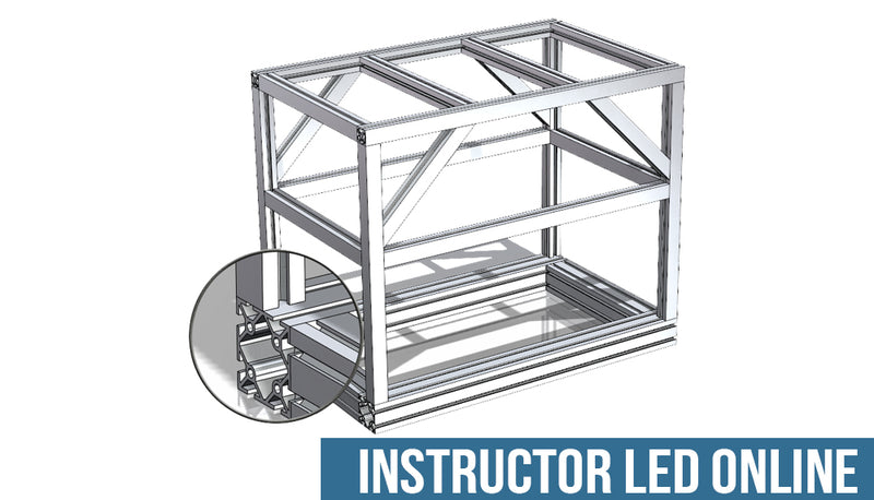 SOLIDWORKS Weldments  - Instructor Led Online Training