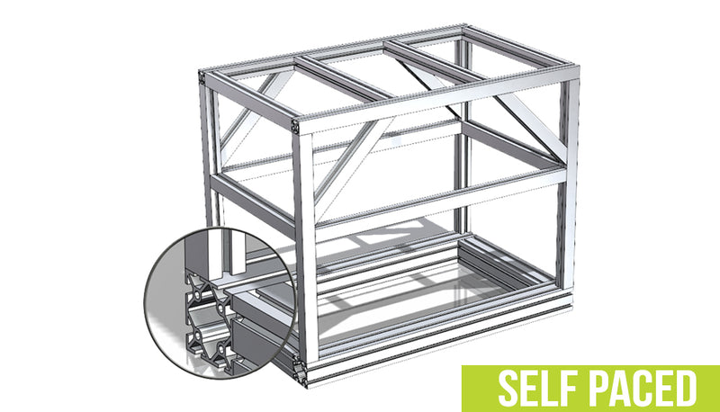 SOLIDWORKS Weldments Design - Self Paced Training (supported)