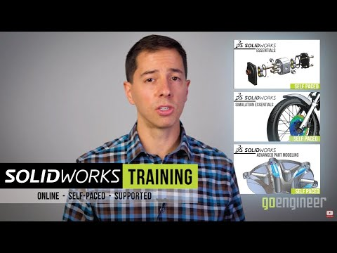 SOLIDWORKS Flow Simulation  - Self Paced Training (supported)