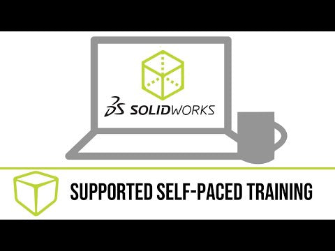 SOLIDWORKS Advanced Part Modeling - Self Paced Training (supported)