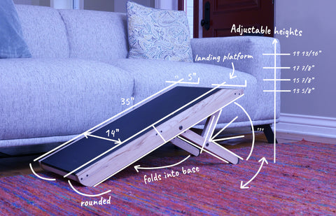 plans for dog couch ramp