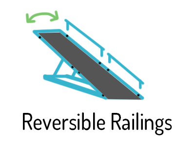 reversible railings