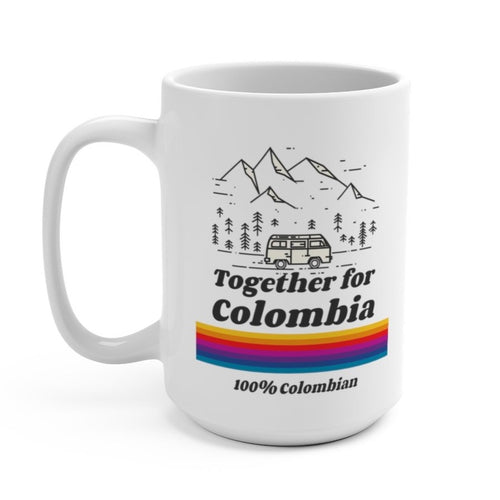 Coffee Mug - Together For Colombia Benefit - 15 oz