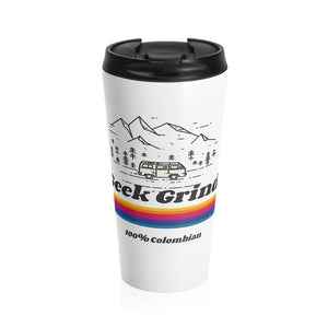 Stainless Travel Mug - Geek Grind - Benefit Mug