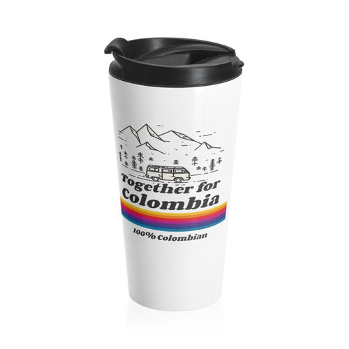 Stainless Travel Mug - Together For Colombia Benefit