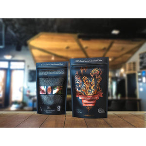 Geek Grind - Dwarven Dawn - Medium Dark Roast Coffee - 12oz or 5lb - Whole Bean