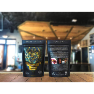 Geek Grind - Siege Fuel - Espresso Roast Coffee - 12oz or 5lb - Whole Bean