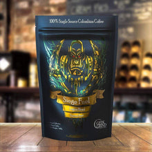 Load image into Gallery viewer, Geek Grind - Siege Fuel - Espresso Roast Coffee - 12oz or 5lb - Whole Bean