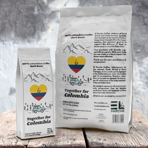 Together For Colombia Coffee - Relief Benefit - Dark Roast
