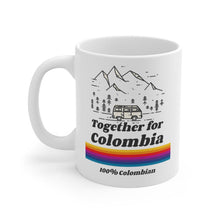 Load image into Gallery viewer, Coffee Mug - Together For Colombia Benefit - 11oz