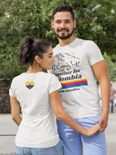 Load image into Gallery viewer, Women's T-Shirt - Together For Colombia Benefit