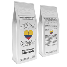 Load image into Gallery viewer, Together For Colombia Coffee - Relief Benefit - Breakfast Blend