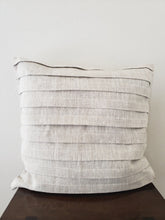 Load image into Gallery viewer, Pleated Pillow Cover - Linen (Natural)