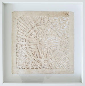 Framed Mexican Amate or HandCrafted Bark Paper