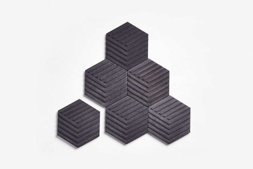 Table Tiles Concrete (Charcoal Grey)