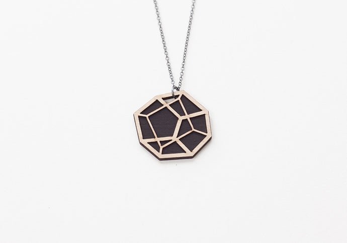 Pentahedron Necklace
