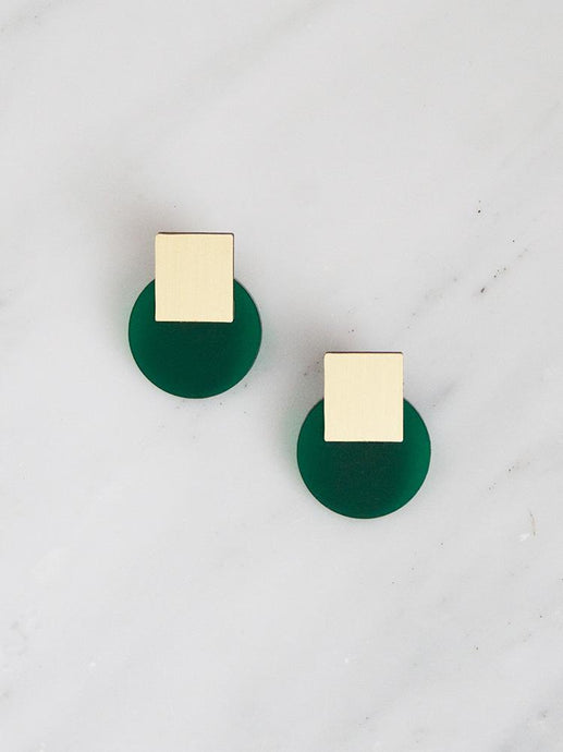 Sol Stud (Dark Green)
